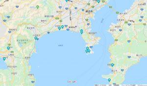 東京湾と相模湾