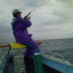 2008年二宮丸マグロ釣りのKさん