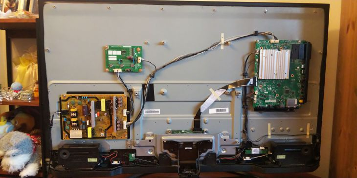 AQUOS 4T-C50AJ1 2020/8/1 内部バキューム清掃後