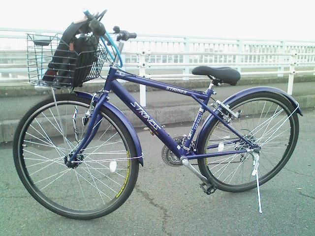 通勤に使った普通の自転車